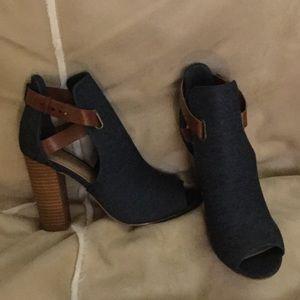 Shoe Dazzle Denim Shoes
